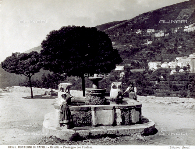 Moorish fountain - Piazza Fontana, Ravello