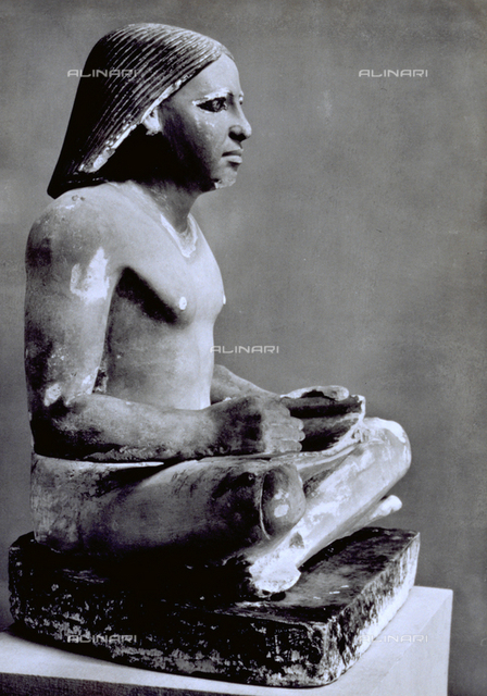 Scribe, Egyptian Museum, Cairo