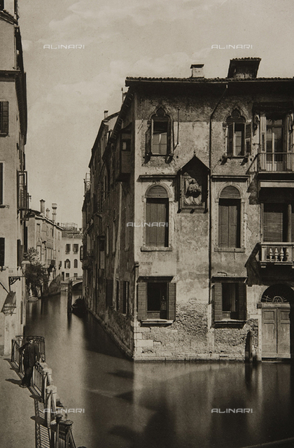 View of Rio and Palazzo dell'Angelo, Venice
