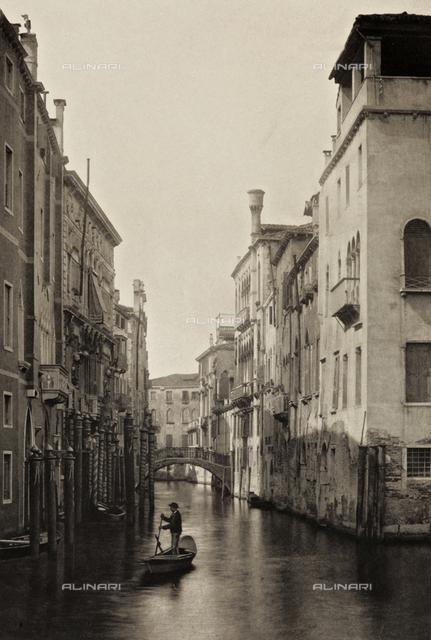 Animated view of Rio Santa Marina, Venice