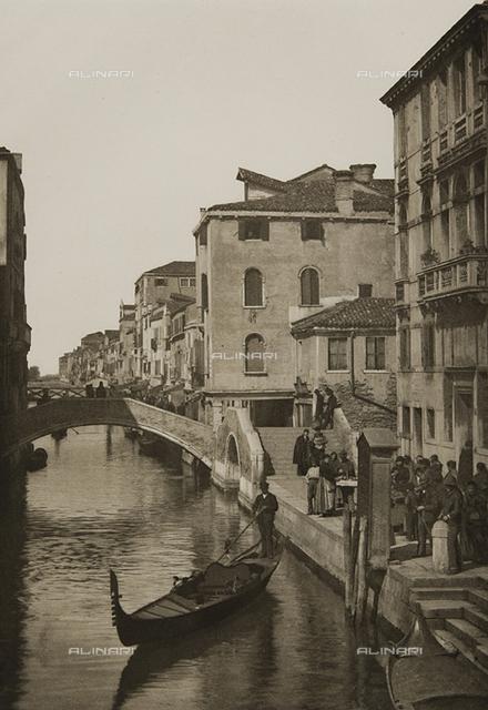 Animated view of Rio della Misericordia, Venice