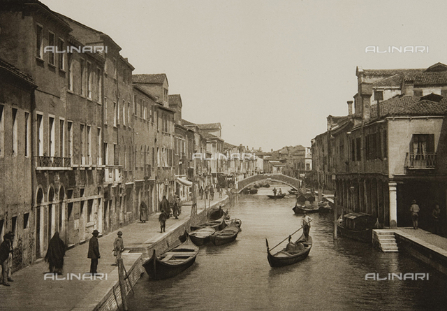 Animated view of Rio dei Vetrai, Venice