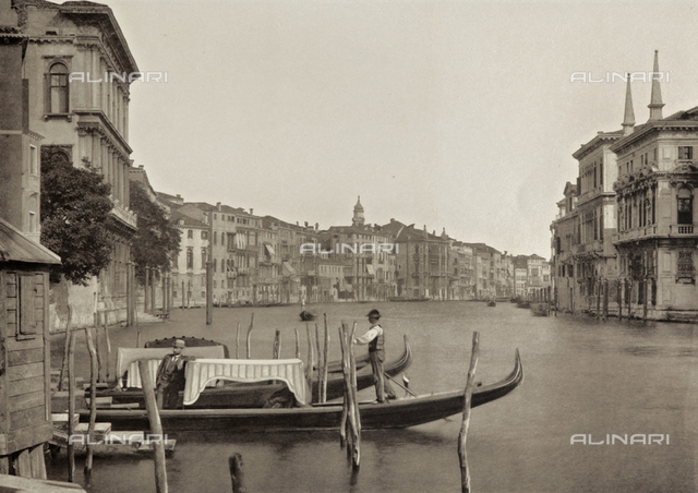 Animated view of the Grand Canal, Venice
