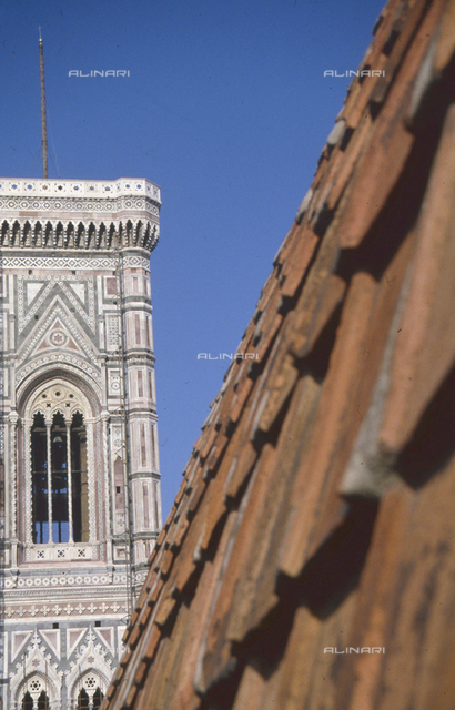 Giotto's bell tower of the Cathedral of Santa Maria del Fiore, Florence