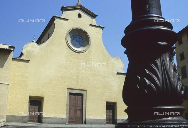 Facade of the Basilica of Santo Spirito, Florence