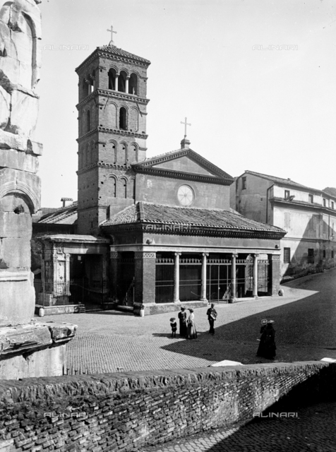 Church of San Giorgio in Velabro, Rome