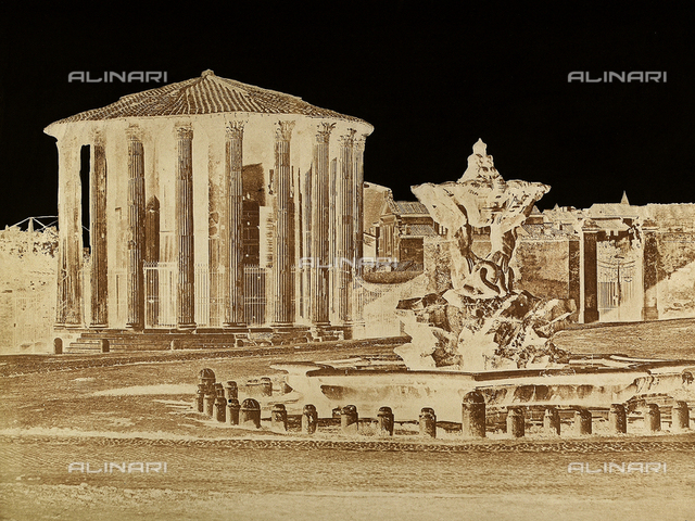 Temple of Vesta, Forum Boarium, Rome