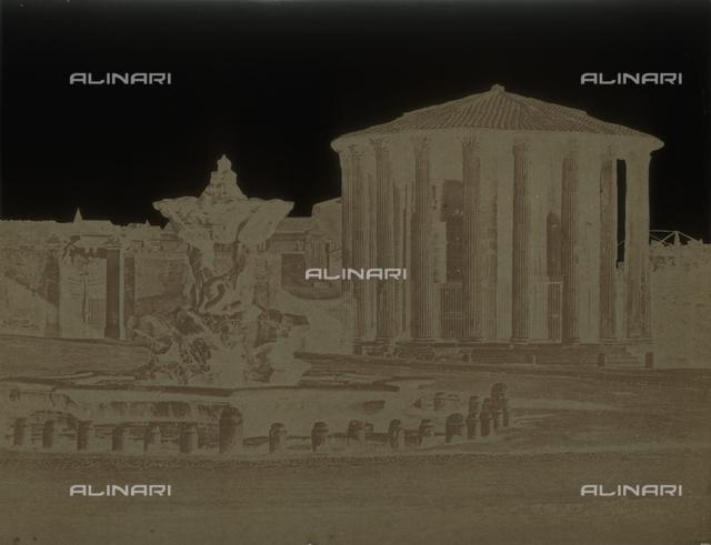 Tempio di Vesta, Foro Boario, Roma