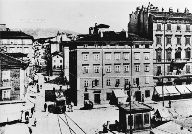 View of the historic center of Trieste