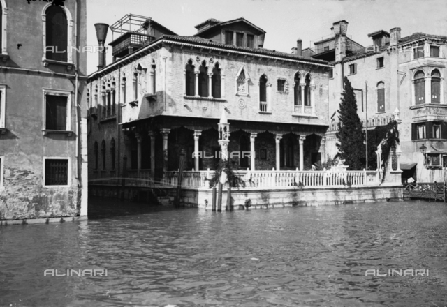 Noble palace on the Grand Canal, Venice