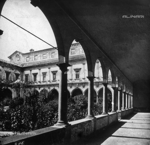 A cloister in Ravenna