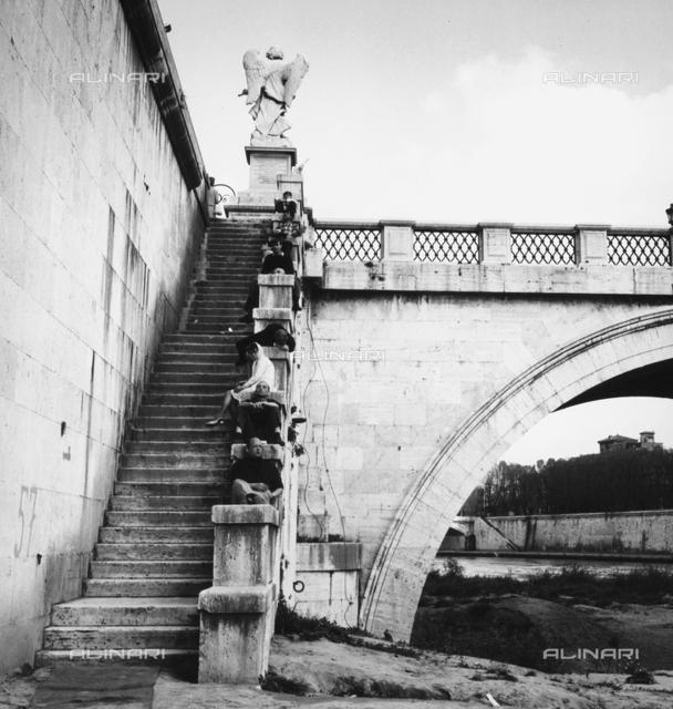 Pons Aelius, Bridge of S. Angelo, Rome.