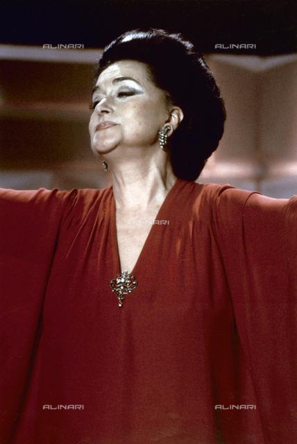 La soprano Leyla Gencer