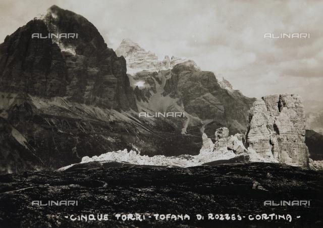 The Cinque Torri, Cortina d'Ampezzo