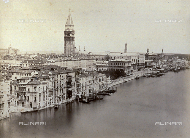 Panorama of Venice from the Cupola of the Church of Santa Maria della Salute