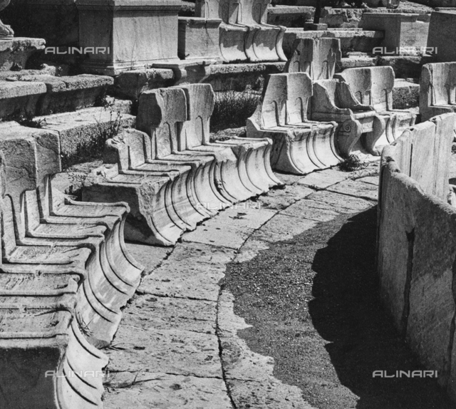 """""""Benches"""": stone seats"""