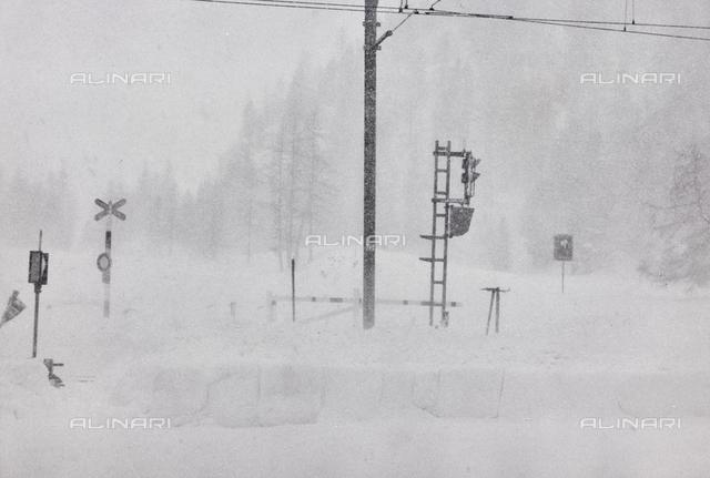 """""""The Great Snowfall at Morteratsch"""""""