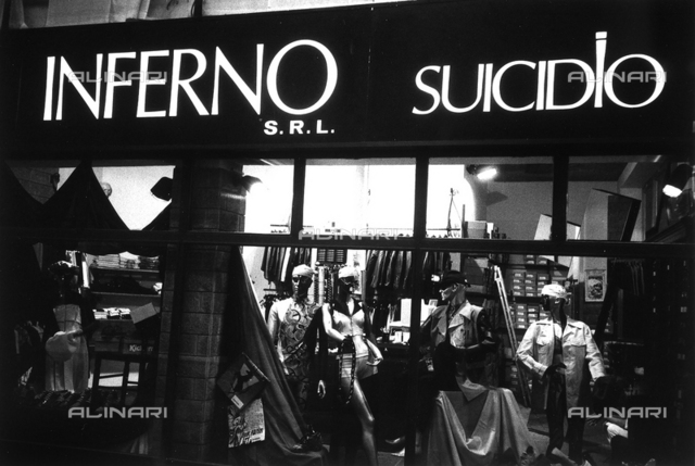 """The shop dummies of """"Inferno Suicidio"""""""