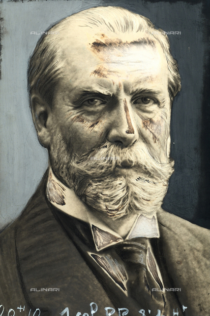 Portrait of Charles Evans Hughes, U.S. politician.