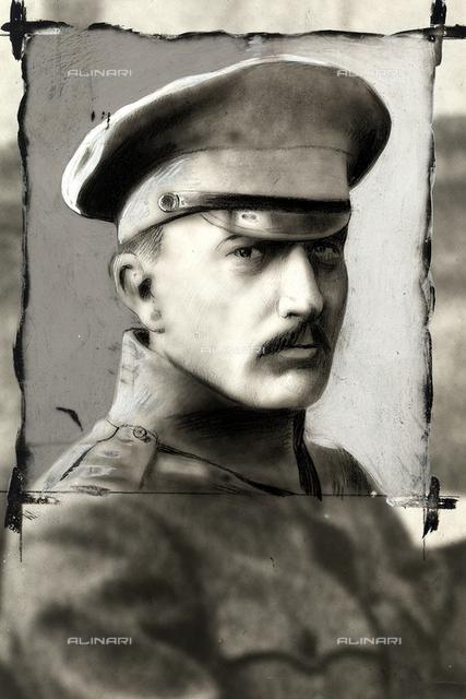 Portrait of Boris Savinkoff.