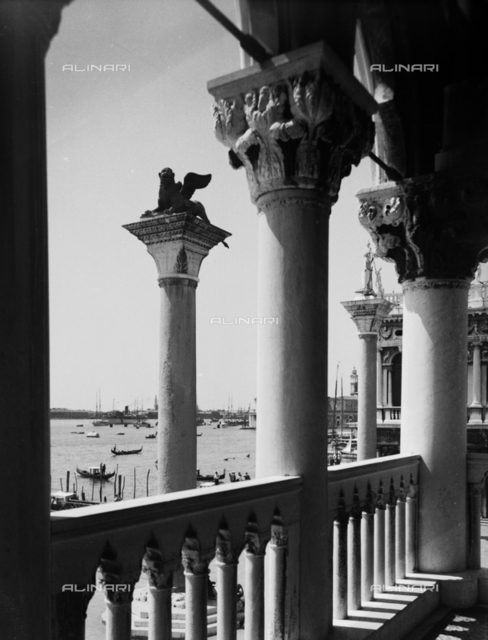 St. Mark's column, Piazzetta San Marco, Venice