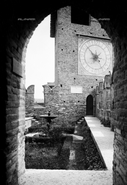 The clock tower of Castelvecchio, Verona
