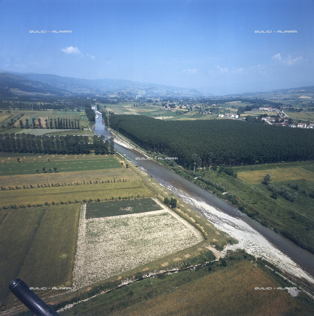 The course of the Arno