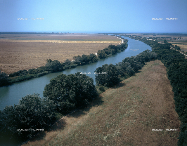 Estuaries of the Ombrone river