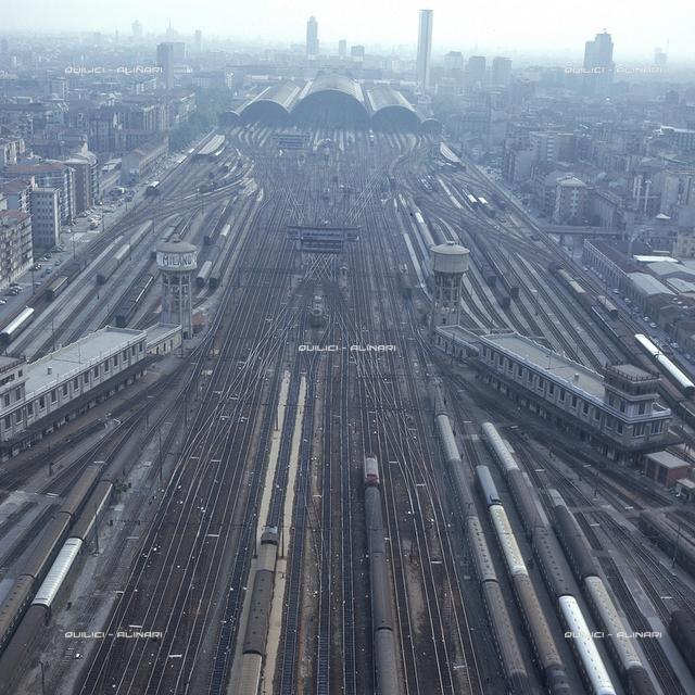 Central Railway Station in Milan