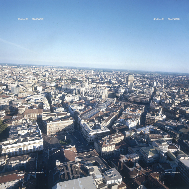 Milan: bird's eye view