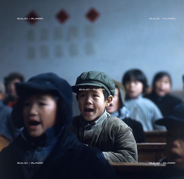 Me-Scia-u. Children of a primary school class