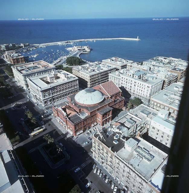 View of the Petruzzelli Theater in Bari
