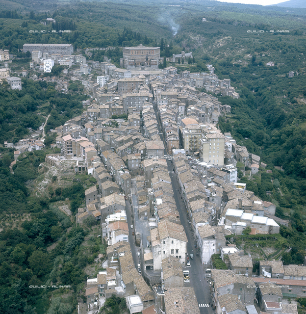Aerial view of Caprarola