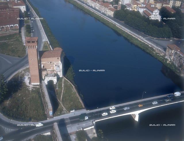 View of Pisa and the Arno river
