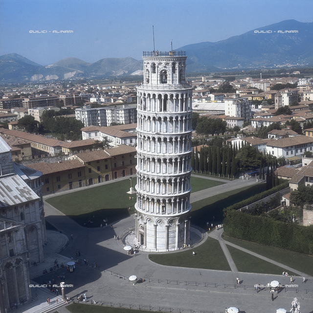 Bell tower of the Cathedral (Leaning Tower), Pisa