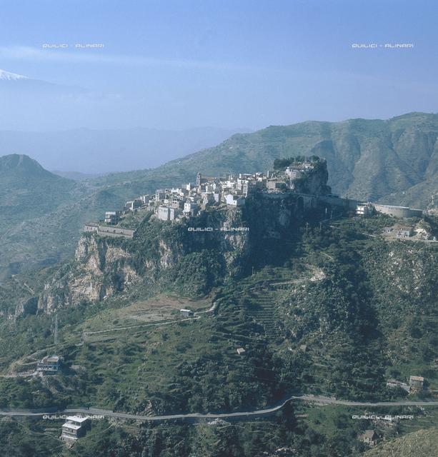 Aerial view of Castelmola