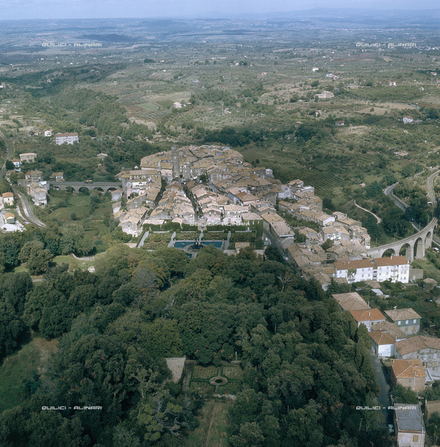 Aerial view of Bagnaia