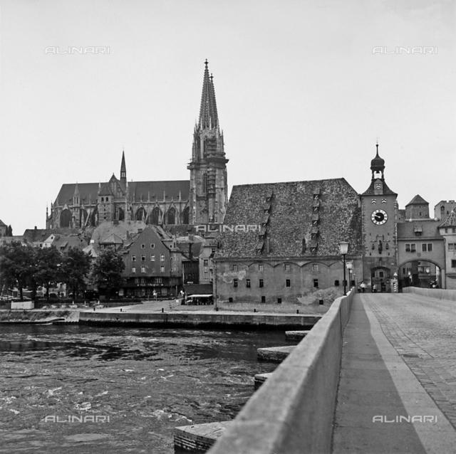 View of Regensburg