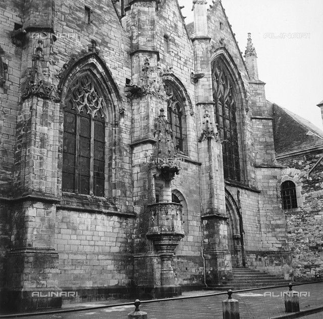 The Cathedral of Vitré in Brittany