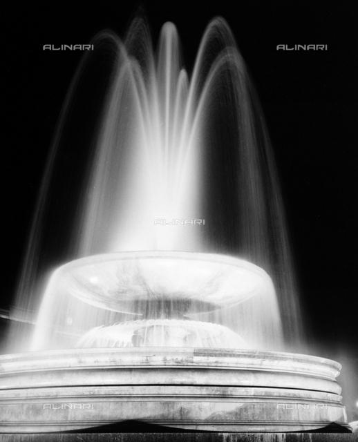 The fountain of Trafalgar Square