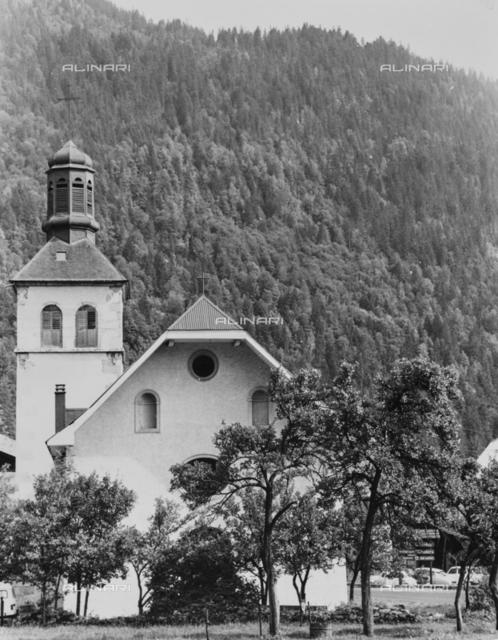 Church of Servoz in Savoy
