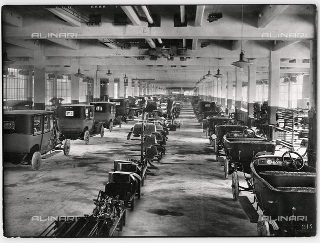 mechanical, fiat ingot production line of 501, 1921-1923