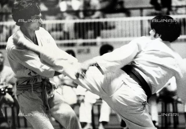 Judo moves.