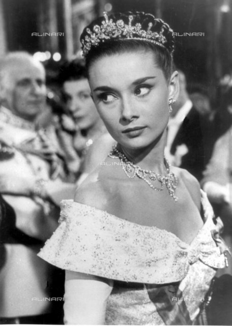 "Audrey Hepburn in ""Roman Holiday"" for which she won an Oscar in 1954., Personalities, Audrey Hepburn"