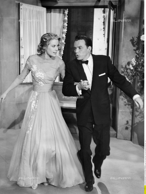"Frank Sinatra (1915-1998) with Grace Kelly in ""High Society"", 1956"