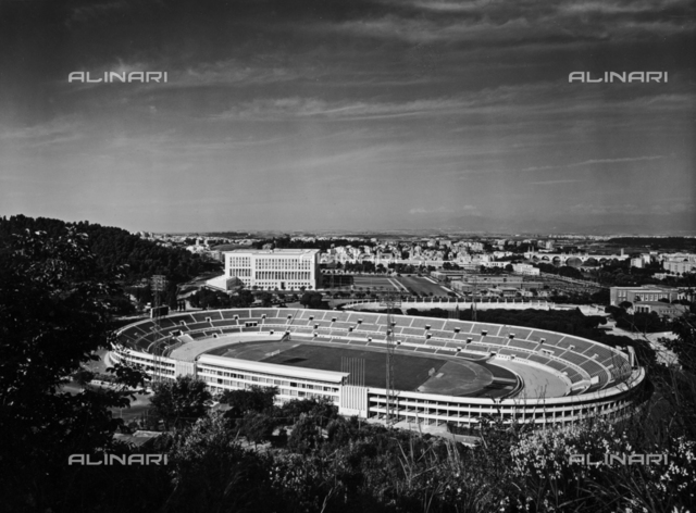 Olympic stadium in Rome