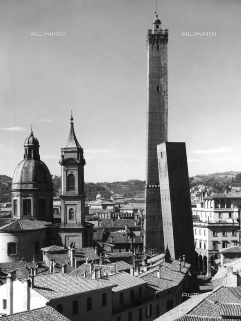 The Asinelli Tower in Bologna