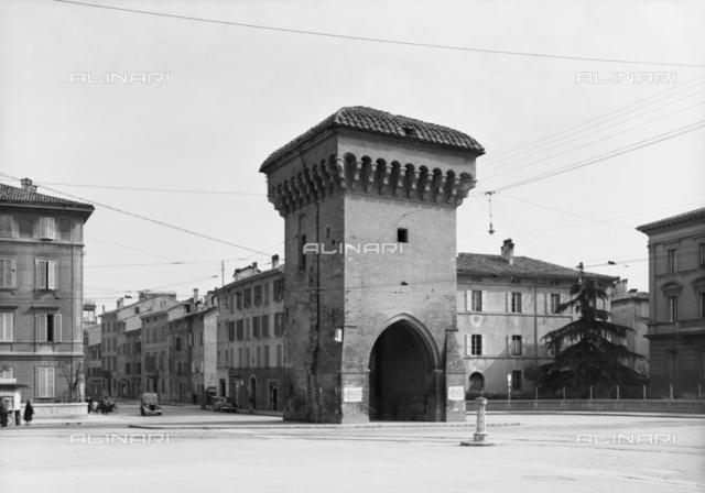 View of Gate Castiglione, Bologna