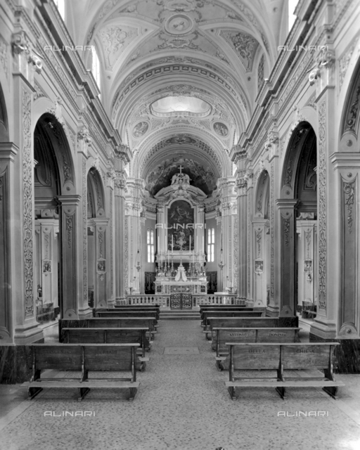 General interior of the Church of Budrio, Bologna