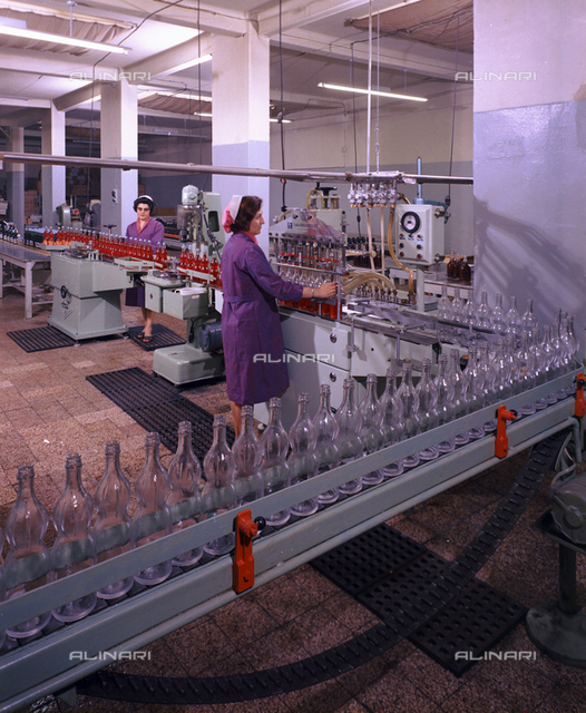 Bottling of the Fabbri Company products, in Bologna